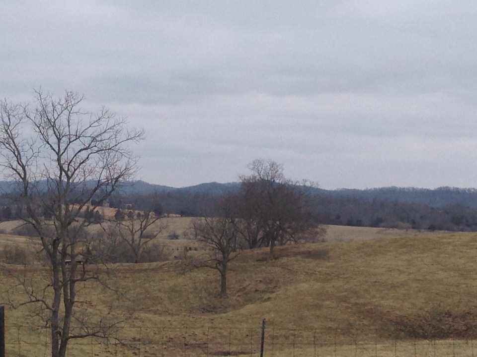 headed into crab orchard Kentucky_january 2015