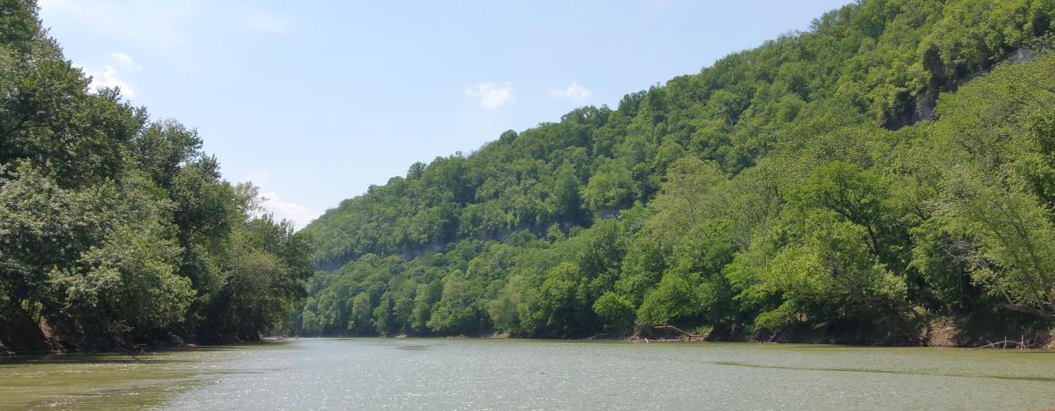 kentucky palisades from the river 2