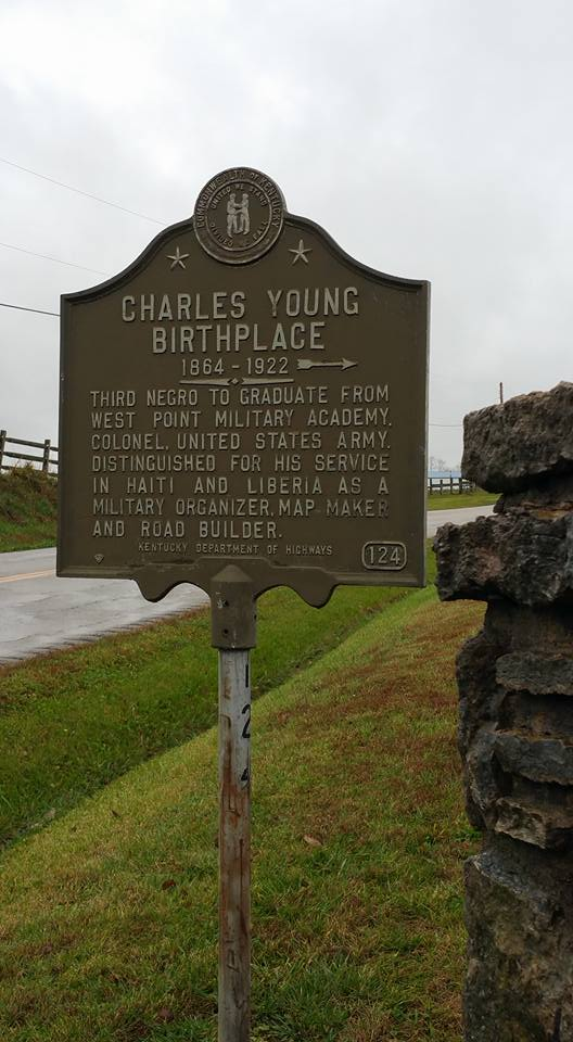 charles young historical marker OLLI