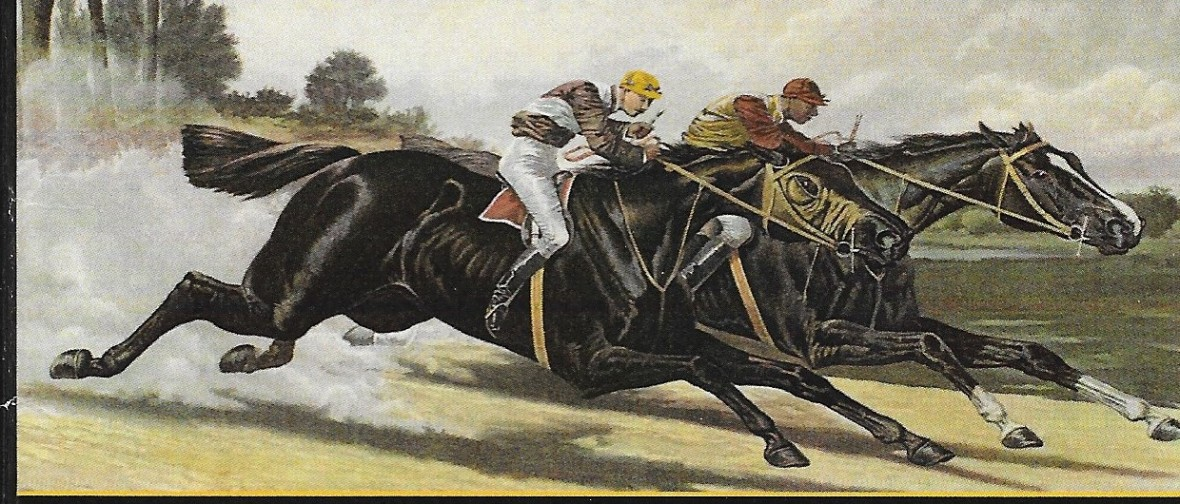 Isaac Murphy_horse race painting