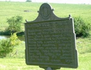 old providence church marker 1