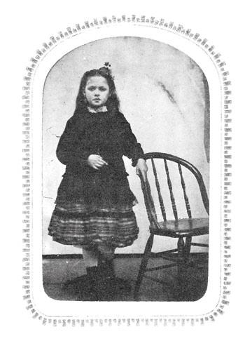 belle brezing age 8