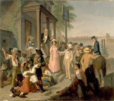 Slave Market, circa 1850-1860.