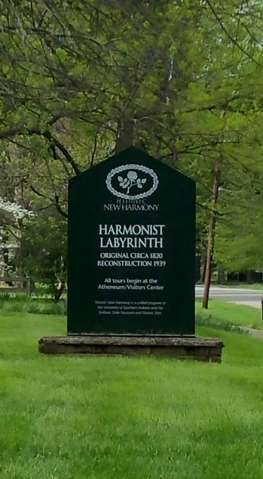 Harmonist Labyrinth_New Harmony, Indiana_2