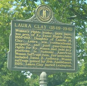 One of Cassius Clay's daughters. Women's rights leader.