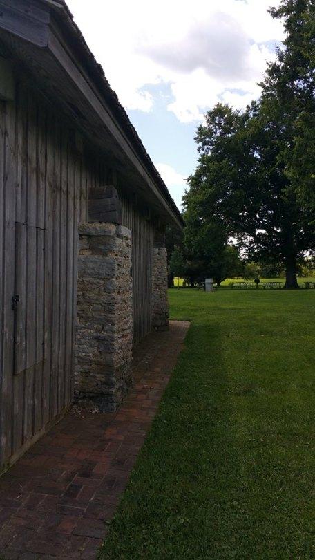 Grist mill, exterior.