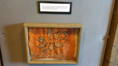 Fabric woven by White Hall African-American slave