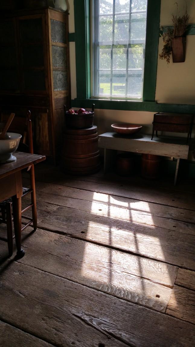 waveland slave quarters interior